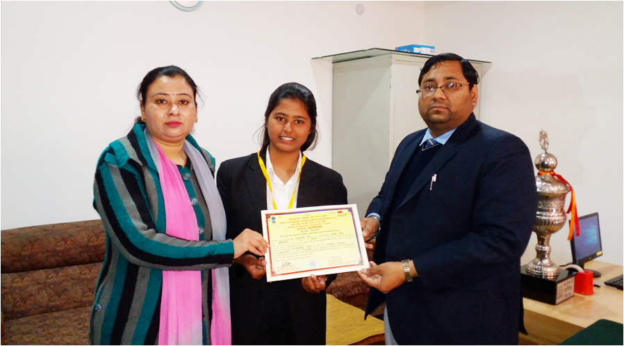 Ms Sumandeep Kaur First In District Inter-State Youth Exchange Programme