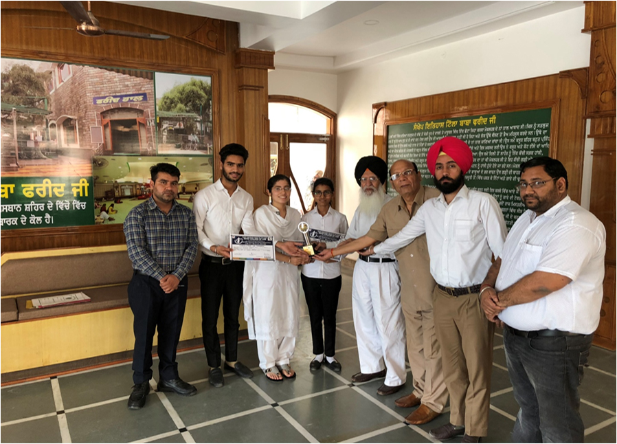 Simranjeet Kaur got Best Moot Memorial Award